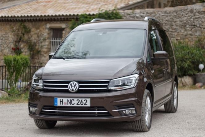 Le Volkswagen Caddy arrive en concession : gros contenu technologique