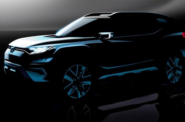 Salon de Genève 2017 : Ssangyong annonce le concept XAVL, un Korando XL