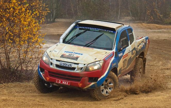 Dakar 2013 - Team Red Bull et Isuzu