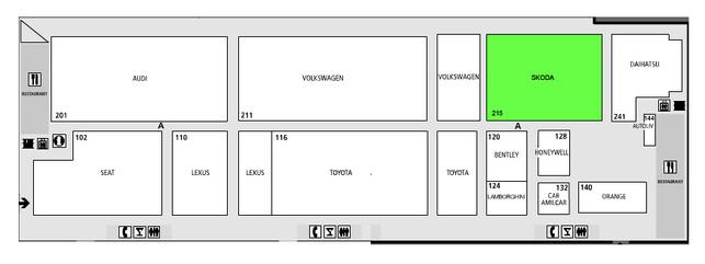 Guide des stands-Skoda: hall 4