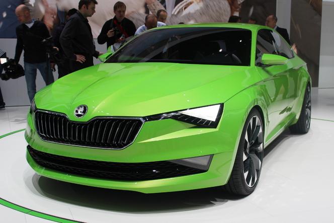 En direct de Genève 2014 - Skoda Vision C Concept : futur proche ?