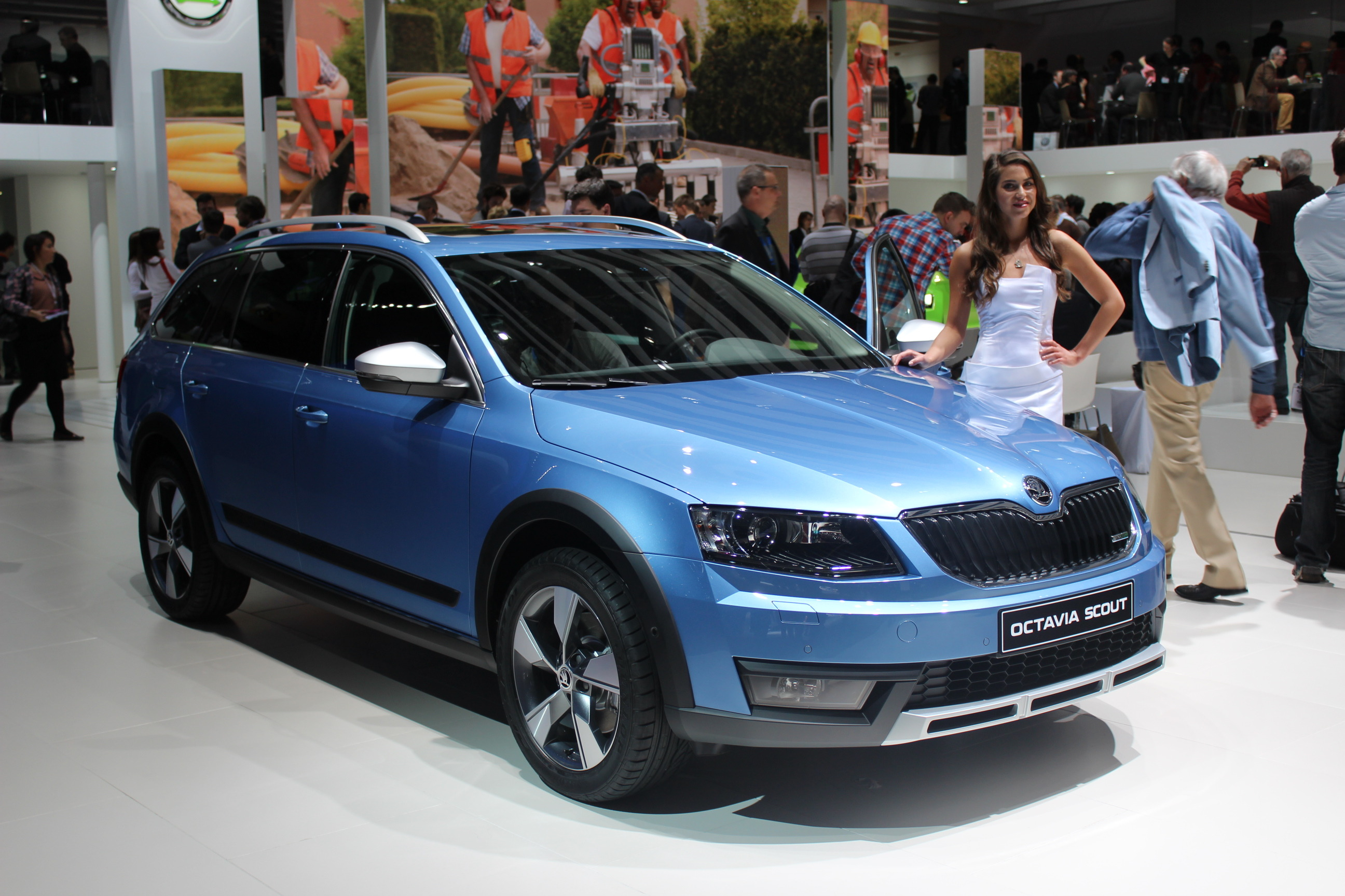 en direct de gen ve 2014 skoda octavia scout baroudeur. Black Bedroom Furniture Sets. Home Design Ideas