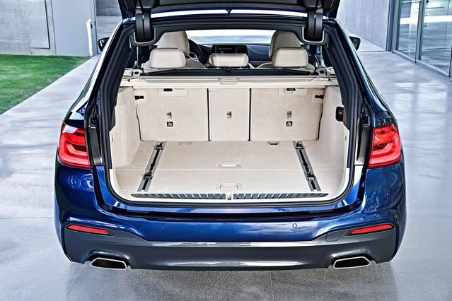 Salon de Genève 2017 - BMW Série 5 Touring : break de classe