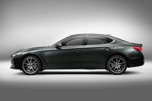 Genesis G70: Hyundai s'attaque à la BMW Série 3