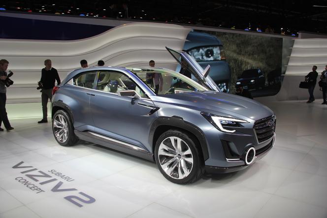 En direct de Genève 2014 - Subaru Viziv 2 Concept