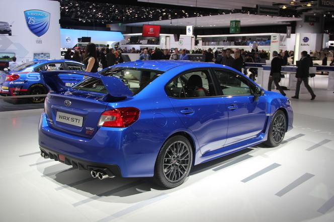 Vidéo - en direct de Genève 2014 - Subaru WRX STi : mise au point