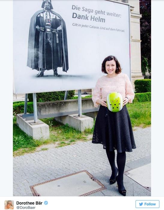 Allemagne : Dark Vador, nouvelle muse pour la sécurité routière