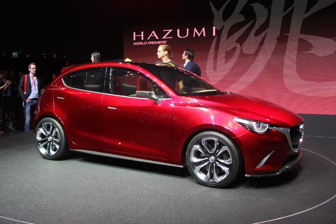 En direct de Genève 2014 - Mazda Hazumi Concept : future star