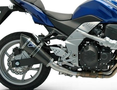Termignoni: 1 échappement et 3 finitions pour la Kawasaki Z750