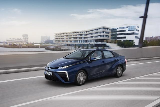 La Toyota Mirai au rappel