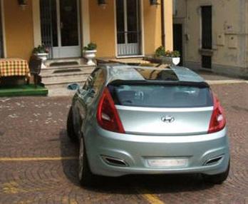 Hyundai Arnejs Concept débusqué