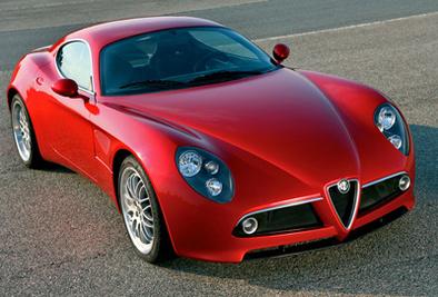 Alfa Romeo 8 C Competizione. palpable !