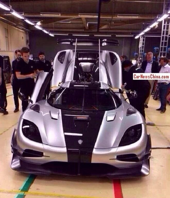 Genève 2014 : la Koenigsegg Agera One:1 s'est échappée