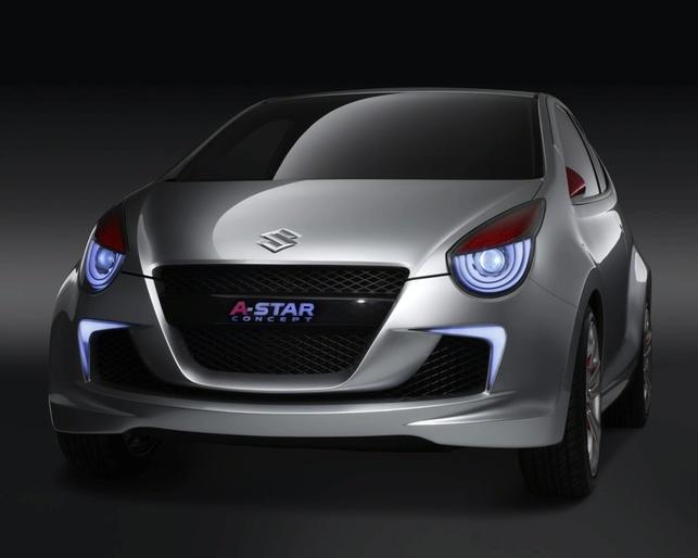 Suzuki A-star Concept fait les yeux doux au salon de New Delhi