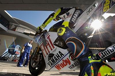 """Moto GP - Portugal D.1 Rossi: """"Aussi vite sous la pluie que sur le sec"""""""