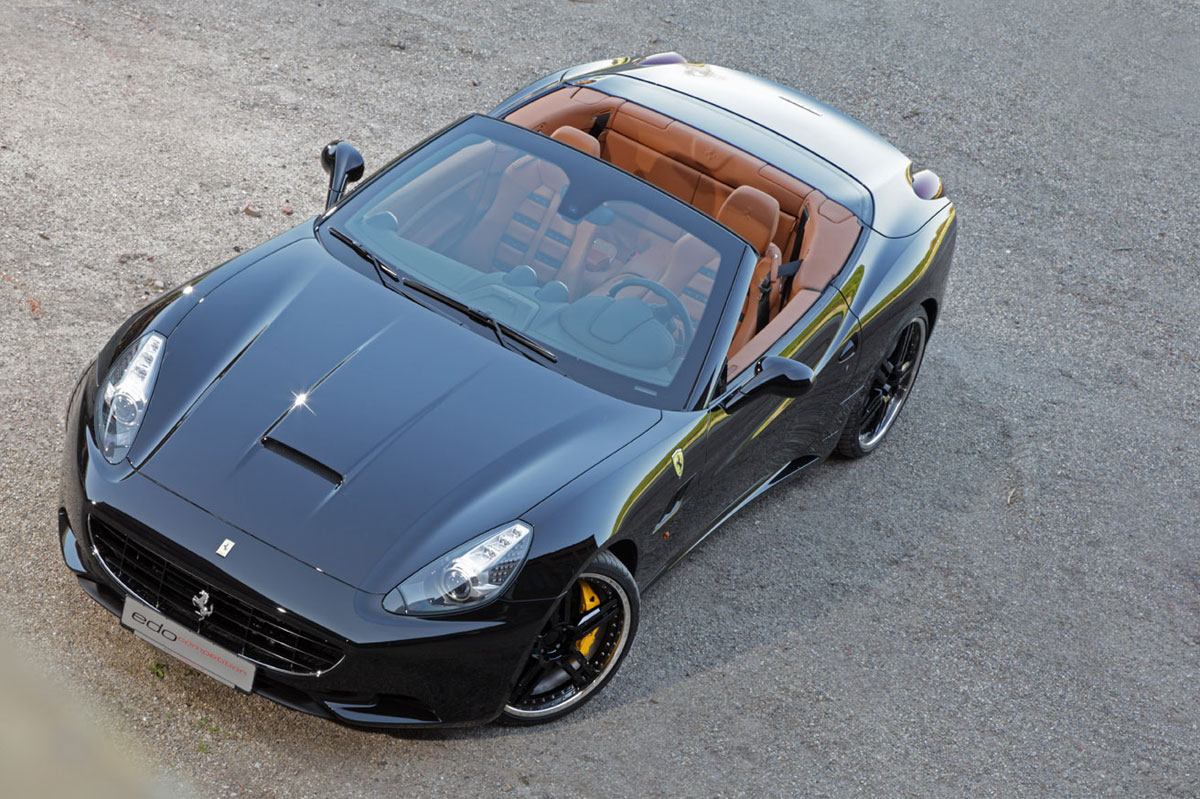 ferrari california par edo comp tition talon noir. Black Bedroom Furniture Sets. Home Design Ideas
