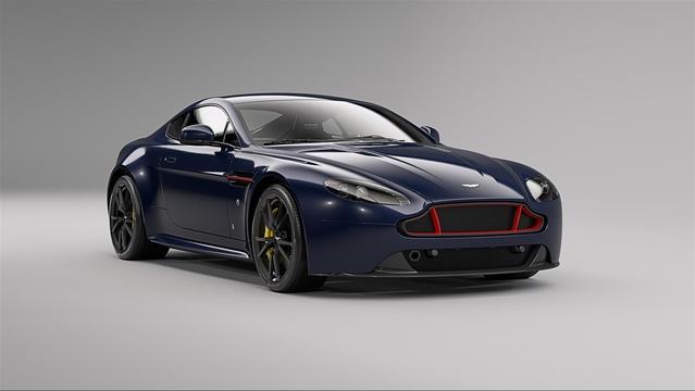 Aston Martin dévoile une série spéciale Red Bull pour la Vantage