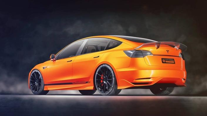 Les préparateurs s'attaquent déjà à la Tesla Model 3