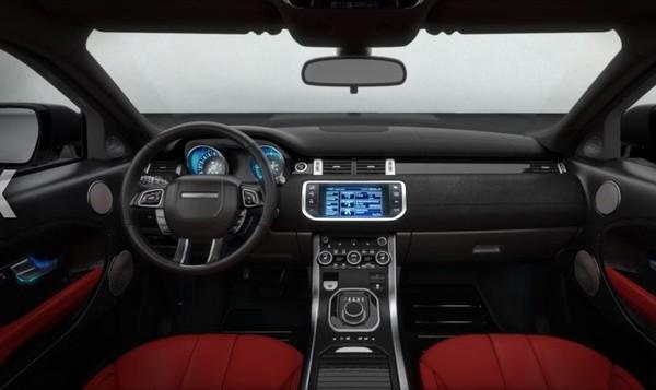 Configurez votre range rover evoque for Interieur range rover evoque