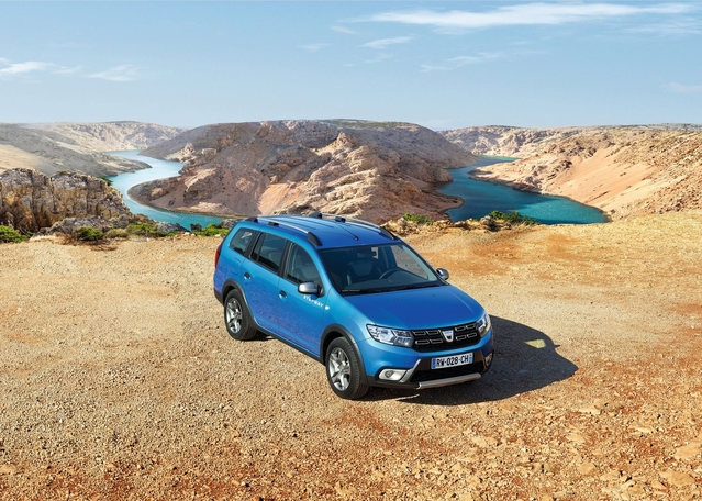 Salon de Genève 2017 - Dacia Logan MCV Stepway : Allroad low-cost