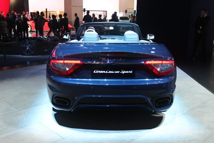 Maserati GranCabrio restylée : ah bon ? - En direct du salon de Francfort 2017