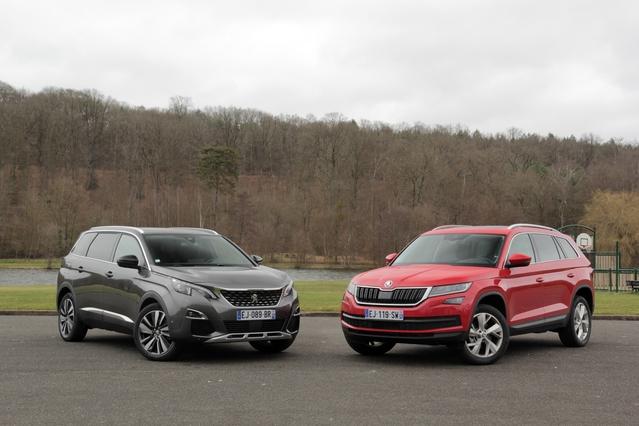 Comparatif vidéo - Peugeot 5008 vs Skoda Kodiaq : combat dans la jungle