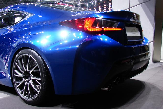 En direct de Genève 2014 - Lexus RC-F: la terreur