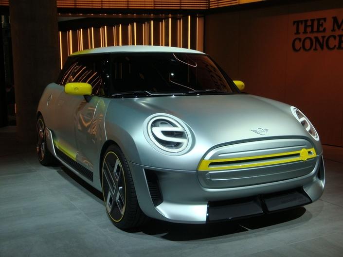 Mini Electric Concept: coquille vide – En direct du Salon de Francfort 2017
