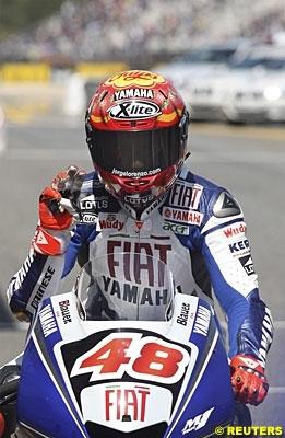 Moto GP - Portugal D.3: Lorenzo a les gros bras