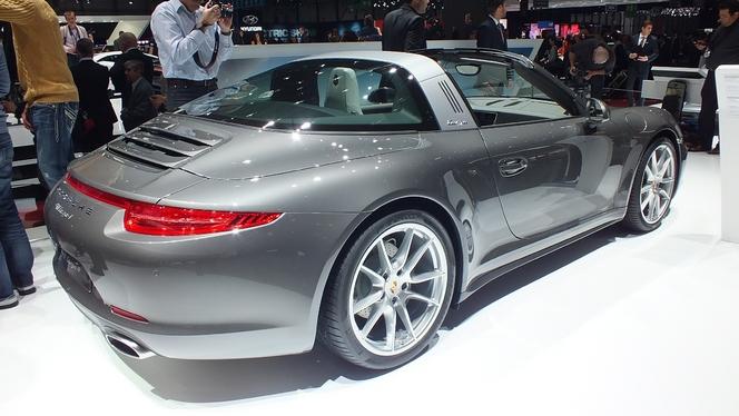 En direct de Genève 2014 - Porsche 911 Targa : revival
