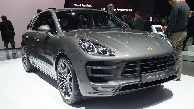 Vidéo en direct de Genève 2014 - Porsche Macan : ambitieux