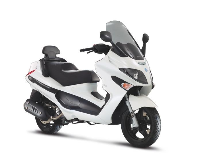 Nouveauté scooter : les Piaggio Xevo et Yourban LT 300 en mode Sport