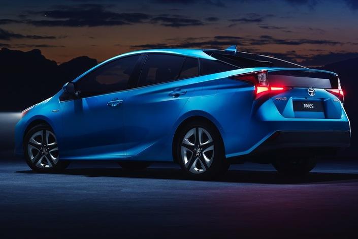 Salon de Los Angeles 2018 - Toyota Prius restylée: un peu moins originale