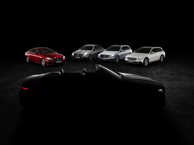 Salon de Genève 2017 : teaser pour la Mercedes Classe E cabriolet