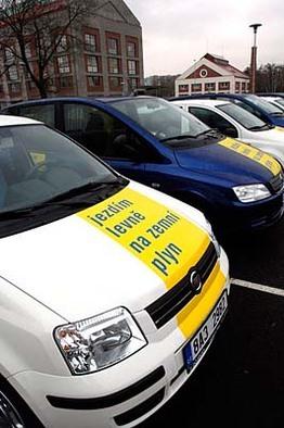 Prague : la Compagnie du gaz a lancé la location de véhicules au GNV