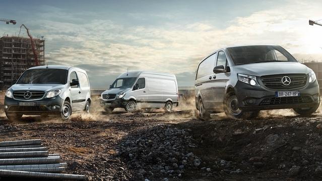 Mercedes: des ventes de VUL florissantes