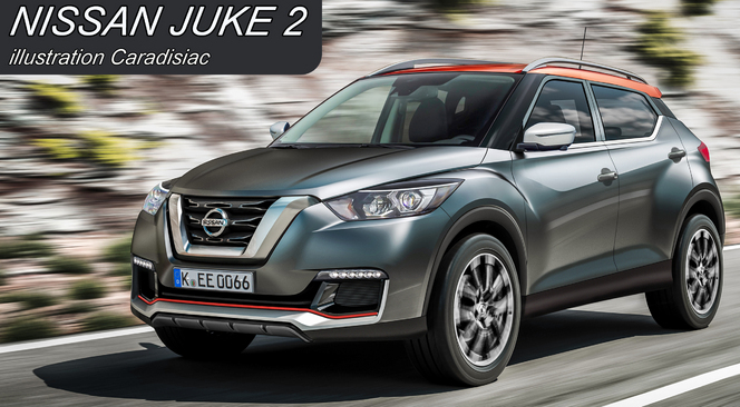 nouveau nissan juke il arrive en 2016. Black Bedroom Furniture Sets. Home Design Ideas