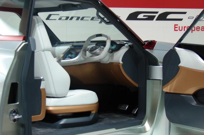 En direct de Genève 2014 - Mitsubishi GC-PHEV Concept: physique ingrat