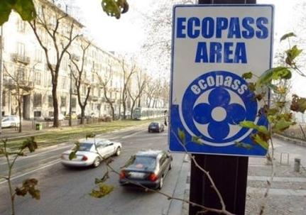 Péage écologique à Milan : 6 300 conducteurs ont payé l'Ecopass le 2 janvier 2008