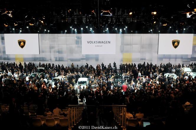 La passion automobile vit toujours : + 10 % de visiteurs au salon de Francfort 2011