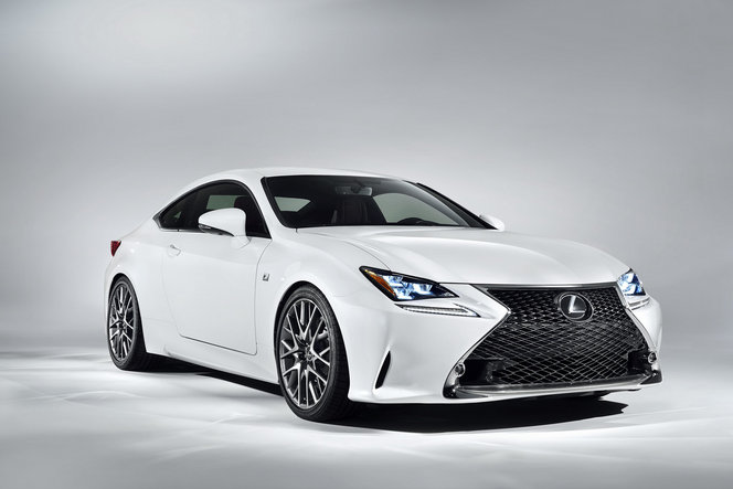 Toutes les nouveautés de Genève 2014 : la vraie nouveauté, c'est la Lexus RC F-Sport