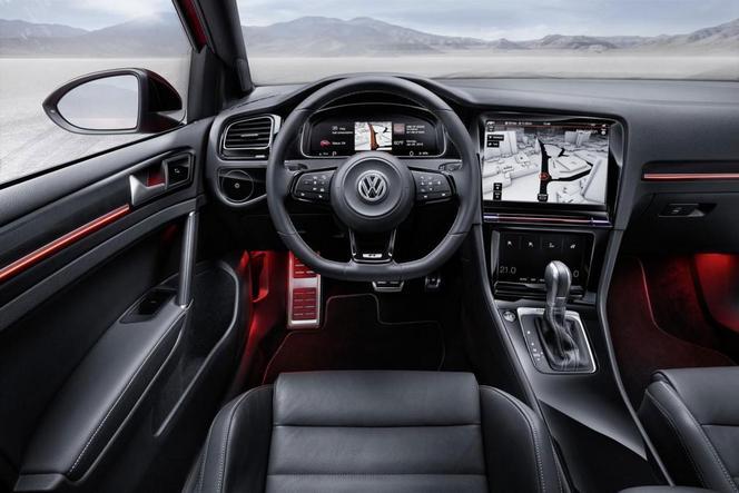 La VW Golf restylée de 2016 aura la reconnaissance gestuelle