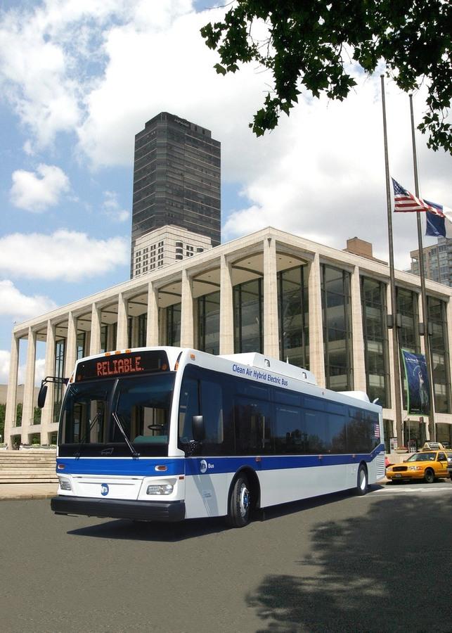 Daimler Buses North America : livraison de bus hybrides diesel/électriques Orion VII à New York et Ottawa d'ici 2010