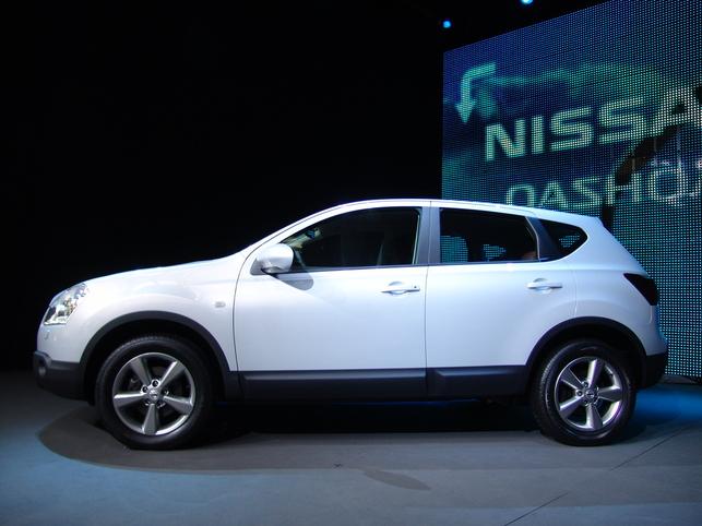 Nissan Qashqai par l'oeil de Lynx