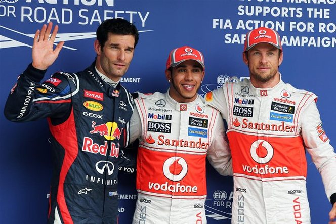 F1 GP du Brésil - qualification : Hamilton et Button dominent les leaders en difficulté