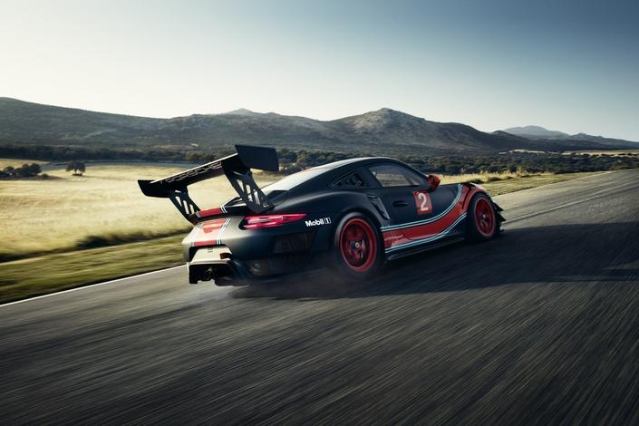 Salon de Los Angeles 2018 - Porsche dévoile la 911 GT2 RS Clubsport