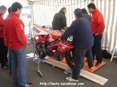 24 H du Mans en direct : Reportage : Les vérifications techniques