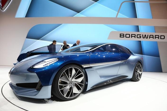 Le concept électrique Borgward Isabella