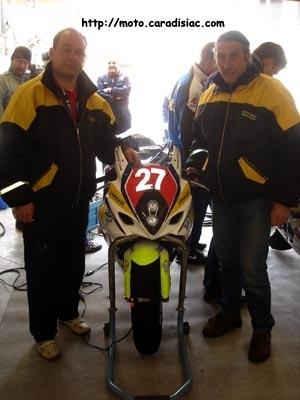 24 H du Mans 2008 en direct : Interview de Gérard Jolivet : team manager de TRT 27