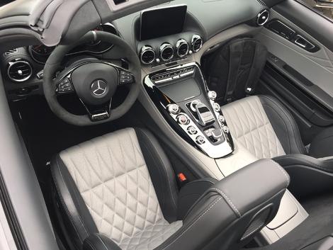 Mercedes-AMG GT Roadster - Les premières images de l'essai en live